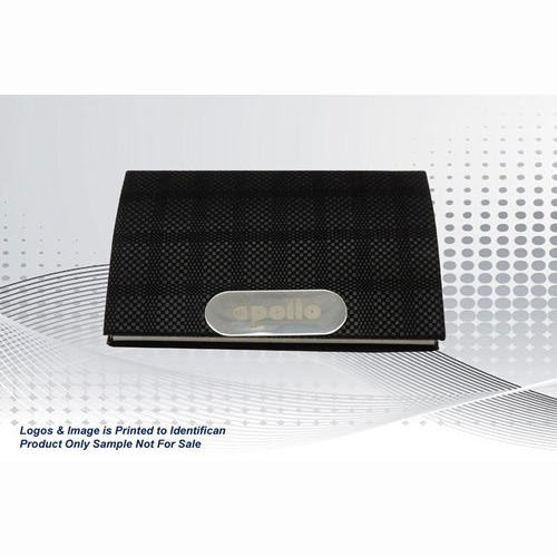 Black Leatherite Card Holder