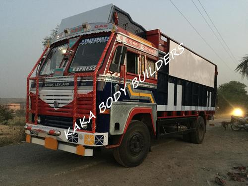 HPCL LPG Cylinder Truck Body