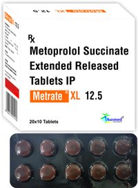 Metoprolol Succinate IP 11.875mg.  Eq. to Metoprolol Tartrate  12.5mg./METRATE-XL 12.5