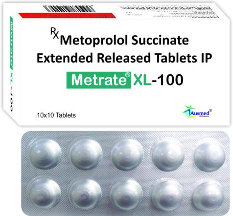 Metoprolol Succinate IP 11.875mg.  Eq. to Metoprolol Tartrate  12.5mg./METRATE-XL 12.5