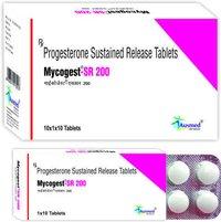 Etoricoxib IP  60 mg. + Thiocolchicodise  IP  4 mg/MYCOGEST-SR 200