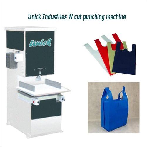 Non Woven W Cut Punching Machine