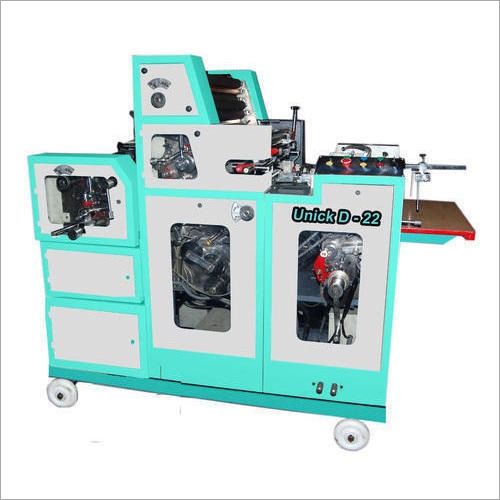Single Color Non Woven Bag Offset Printing Machine
