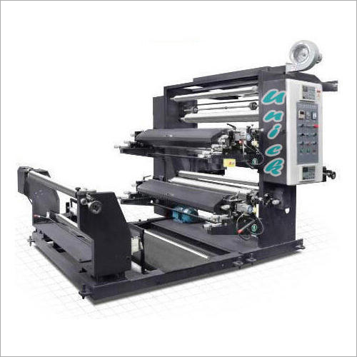Two Colour Non Woven Bag Flexo Printing Machine