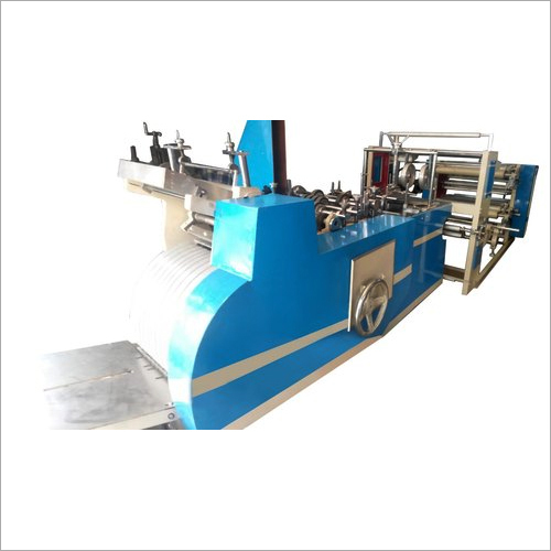 Semi Automatic Square Bottom Paper Bag Making Machine