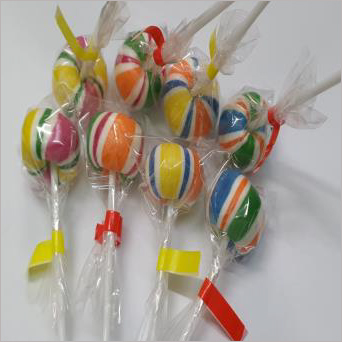 Rainbow Ball Lollipop