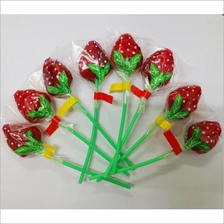 Strawberry Mint Lollipop