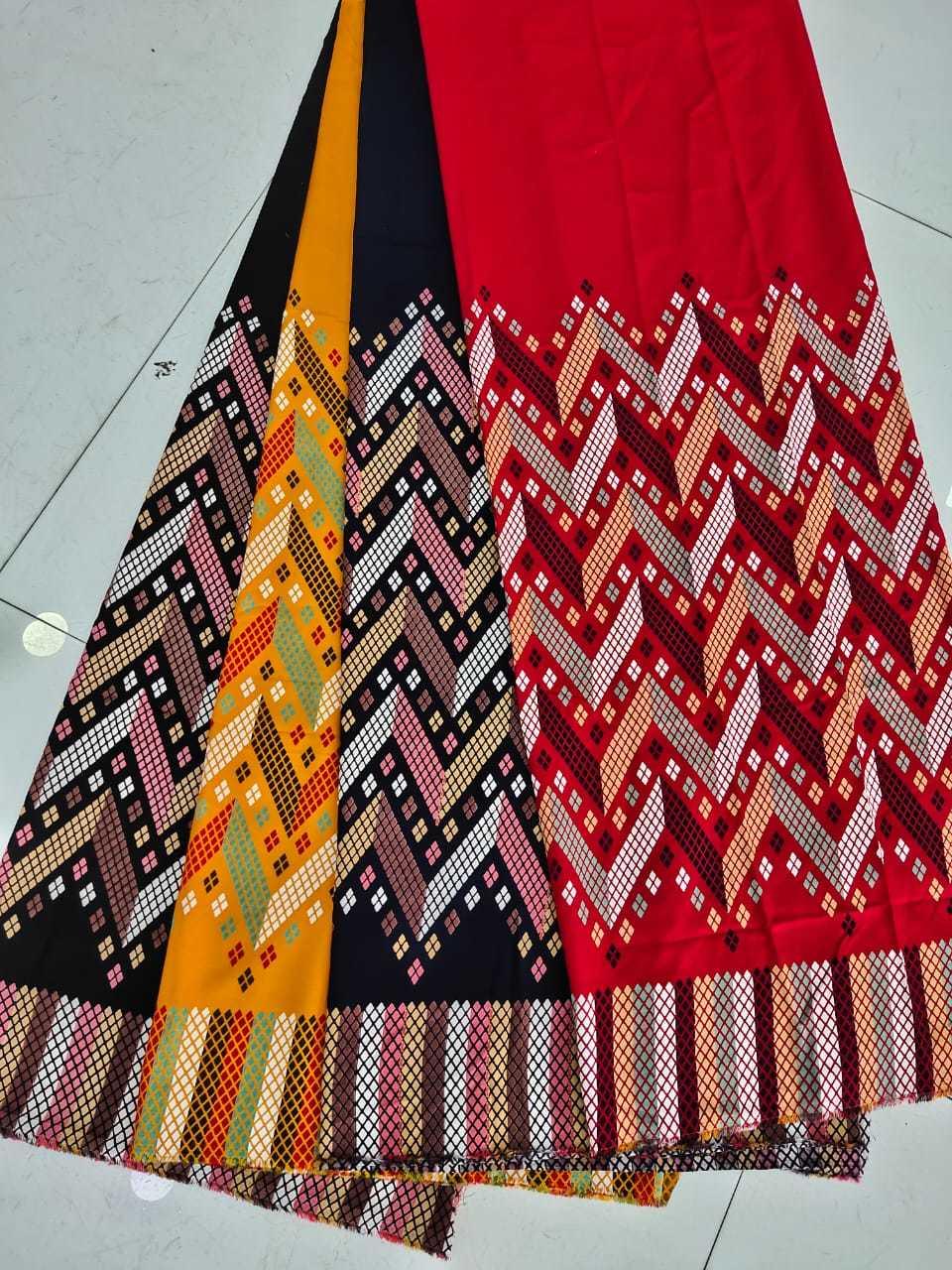 New Rayon Printed Fabric