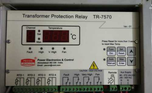 TRANSFORMER PROTACTION RELAY TR-7570