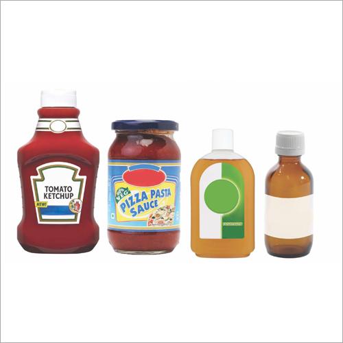 Distilleries Food PET-Glass Bottle Labels