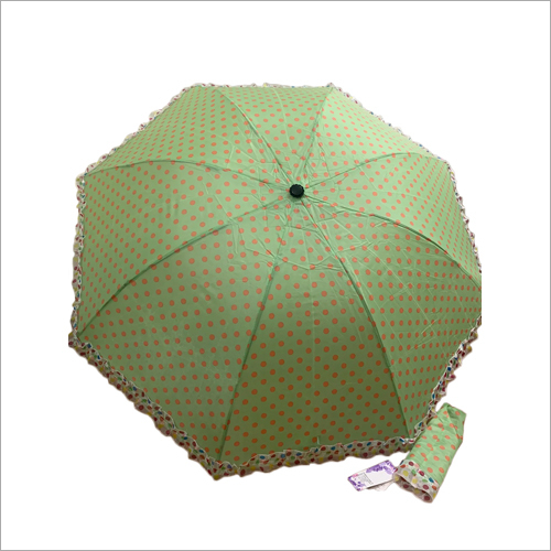 3-Fold Polka Dots Umbrella