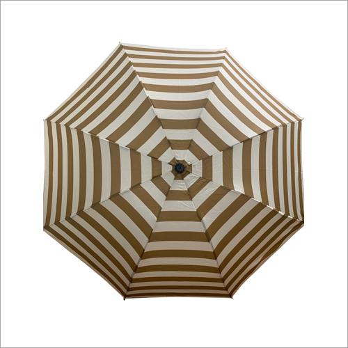 3 - Fold Stripes Print Umbrella