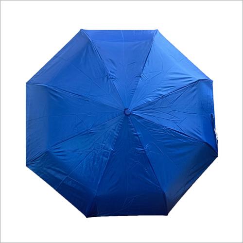 Fold Mono Silver Umbrella
