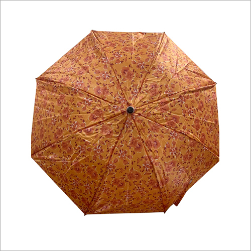 Satin Print Folding Umbrella