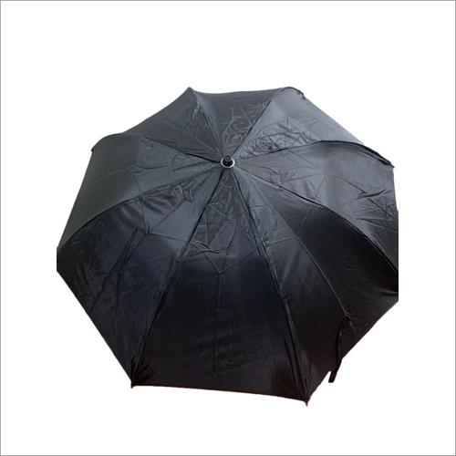 Auto 3 - Fold Black Heavy Umbrella