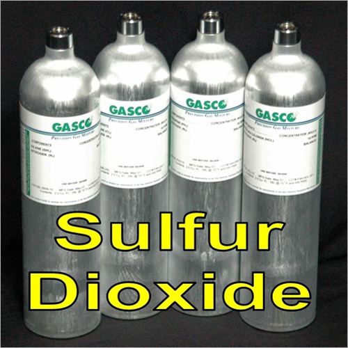Pure Sulfur Dioxide Gas