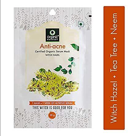 Organic Harvest Anti-acne Serum Mask Sheet 20gm