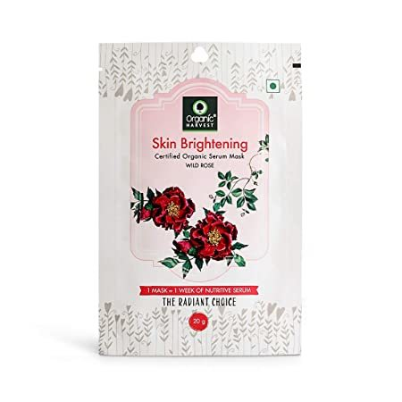Organic Harvest Skin Brightening Face Mask