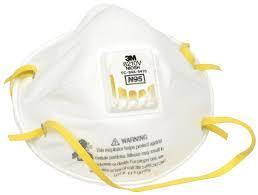 3M N95 White Face Mask 8210