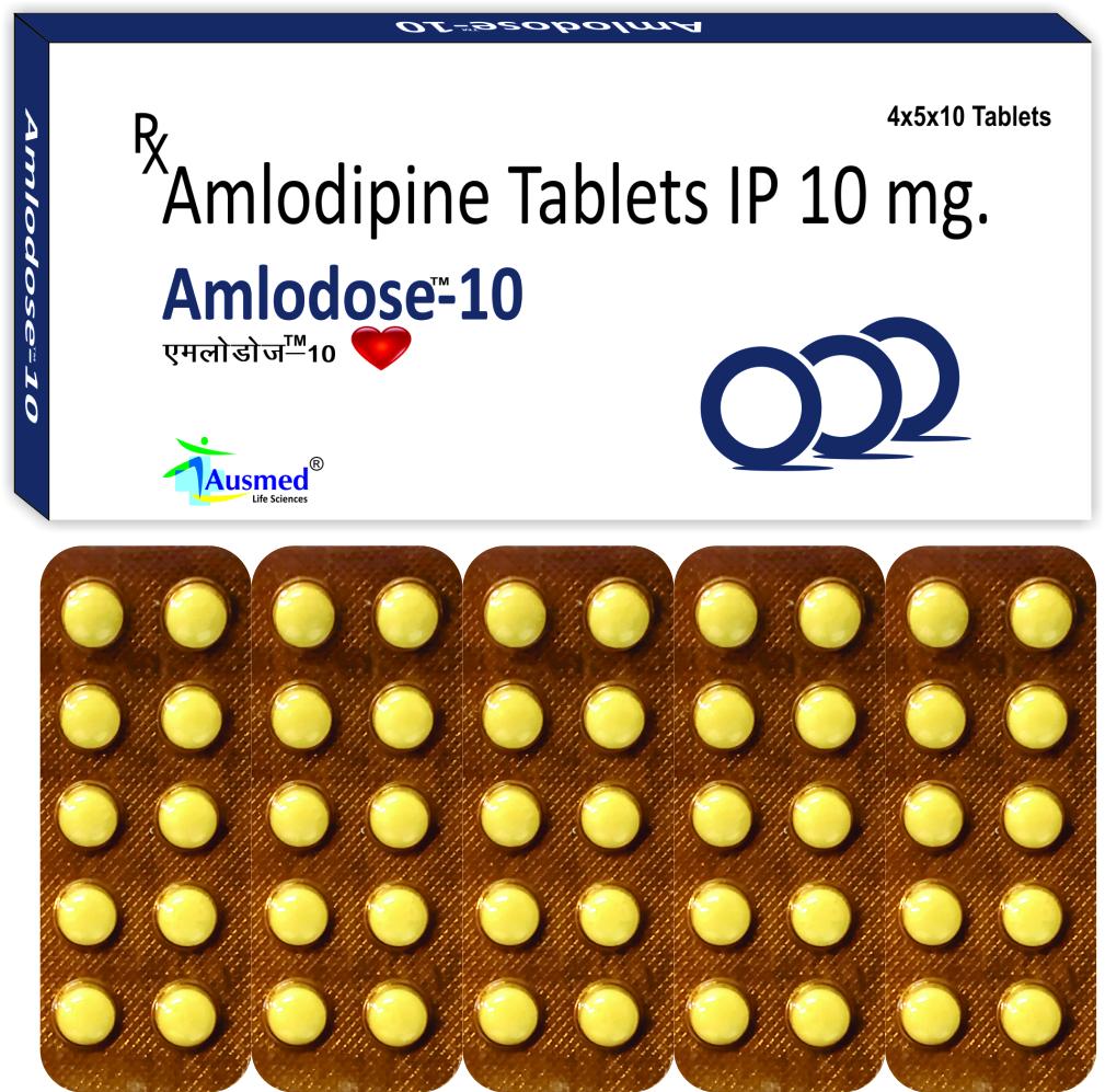 Amlodipine Besylate IP Eq. to Amlodipine  2.5 mg./AMLODOSE-2.5