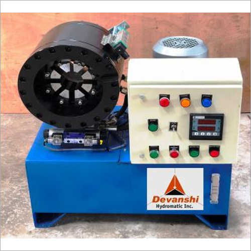 Horizontal Hydraulic Hose Crimping Machine