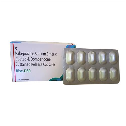 Rabeprazole Sodium Enteric Coated And Domperidone Sustained Release Capsules