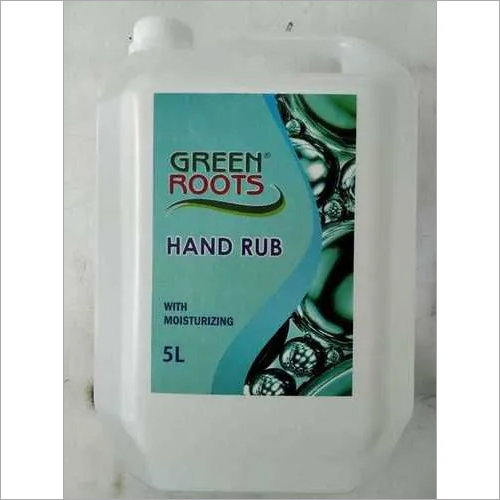 Hand Rub Sanitizer 5 Ltr