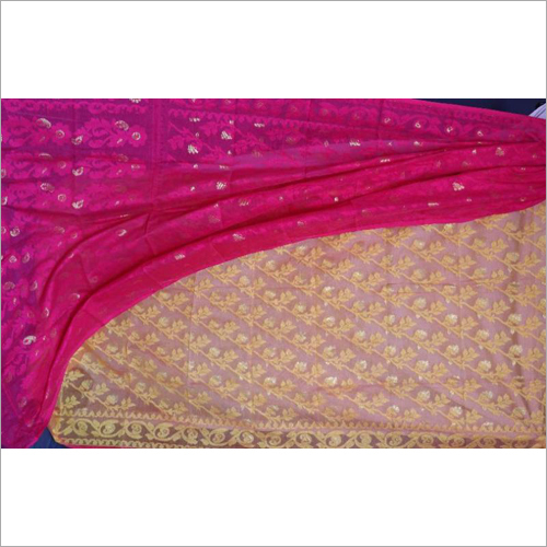 Ladies Half Silk Jamdani Saree