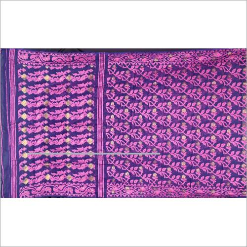 Multi Colour Silk Jamdani Saree