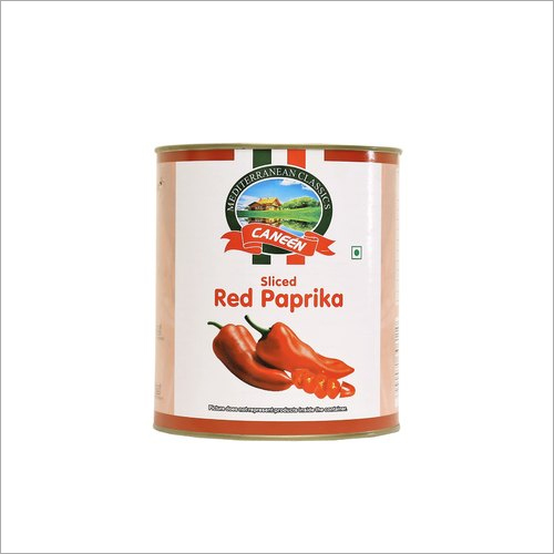 Red Paprika Tin