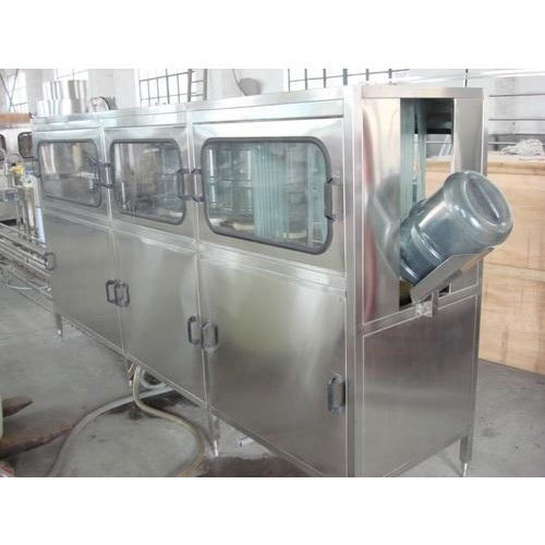 20 Ltr Jar Washing Filling And Capping Machine