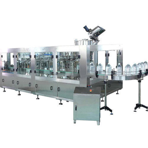 Jar Washing, Filling & Capping Machine
