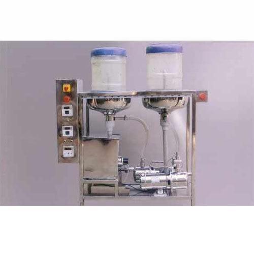 Semi Jar Washing Filling & Capping Machine
