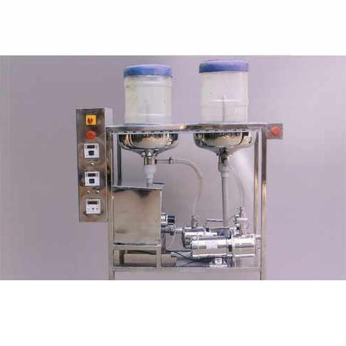 Semi Jar Washing Filling & Capping Machine