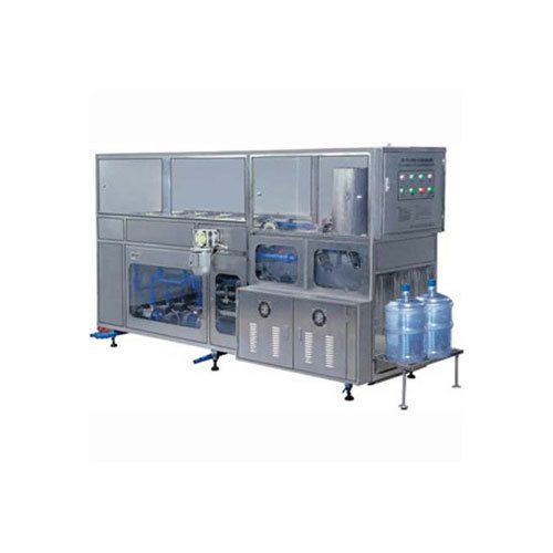 Single Head Jar Rinsing Filling Capping Machine