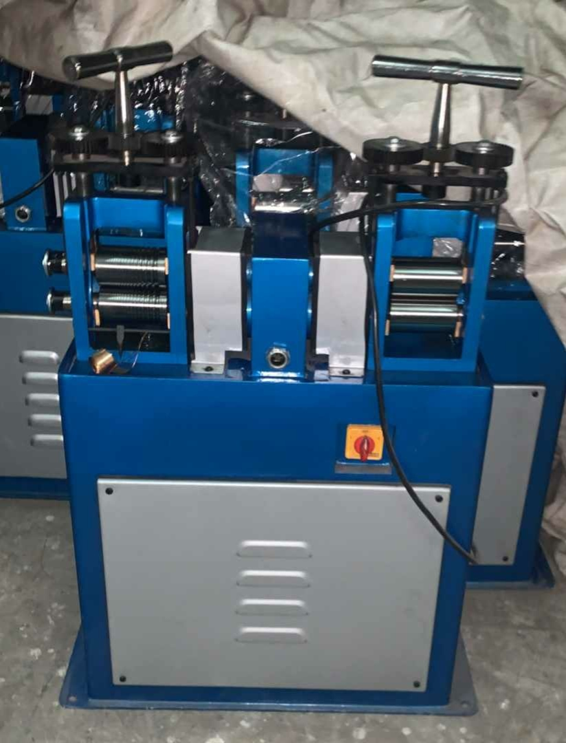 Gold Tool Jewellery Wire And Sheet Rolling Machine
