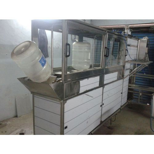 20 Ltr Jar Rinsing Filling Capping Machine