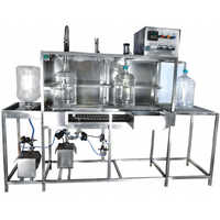 Automatic 40 Ltr Jar Rinsing Filling Capping Machine