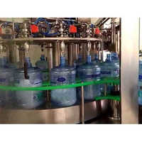 Semi Automatic 40 Ltr Jar Washing Filling Capping Machine