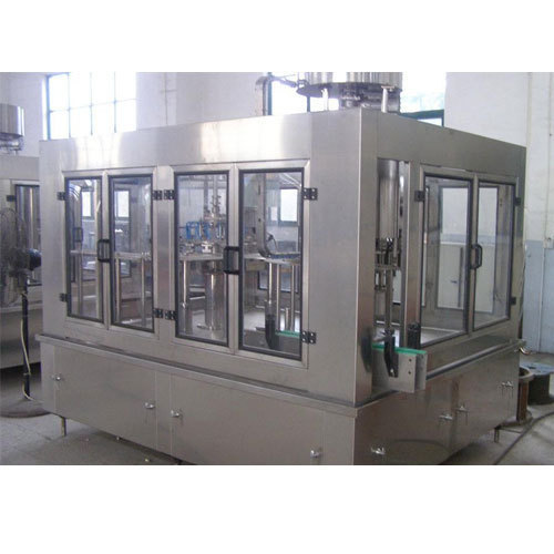 Auto Washing Filling Capping Machine