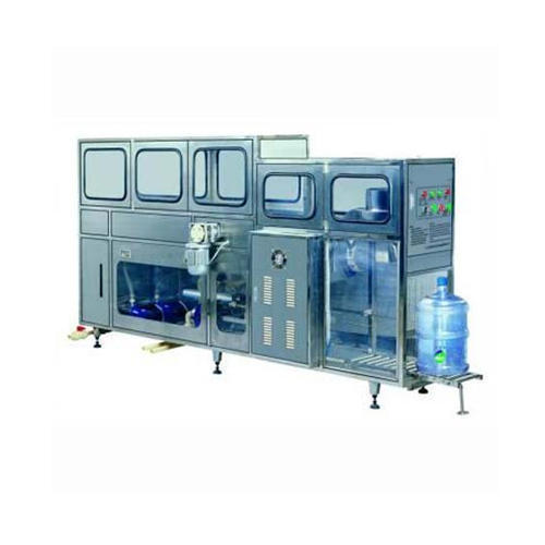 Jars Rinsing And Filling Machines