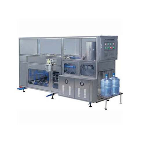 Automatic 20 Ltr Jar Washing Filling And Capping Machine