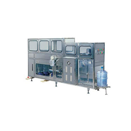 Automatic 20 Ltr Jar Washing Filling Capping Machine