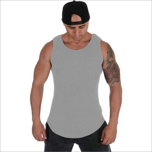 Gray Body Building Vest