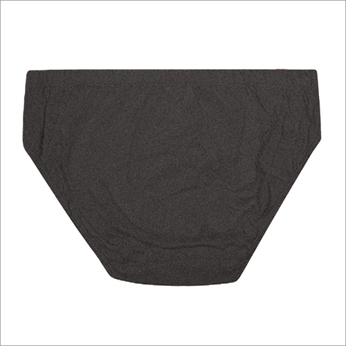 C - Dark Grey Men's Cotton Brief