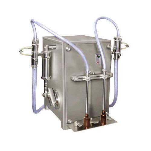 Semi Two Liquid Filling Machine