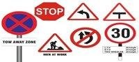Retro reflective Traffic Signages
