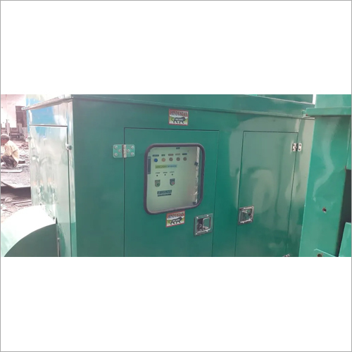 Silent Generator Set With Soundproof Canopy