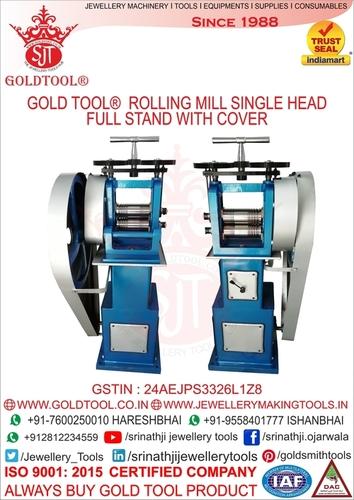 jewelery Rolling Mills Single Head  4