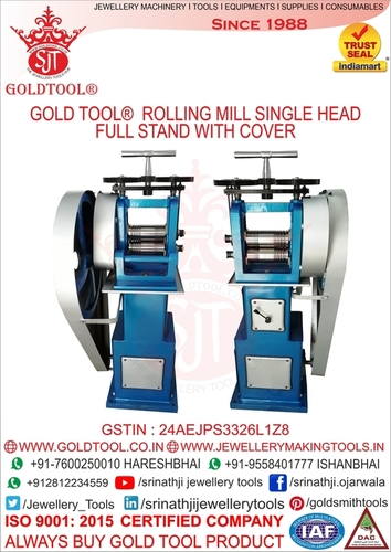 Gold Tool Rolling Mills Single Head 6
